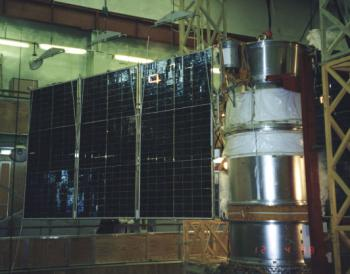 The Resurs-01 N 4 satellite launched on 10th July 1998 with NINA on board